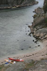 Stranda på Gluppö