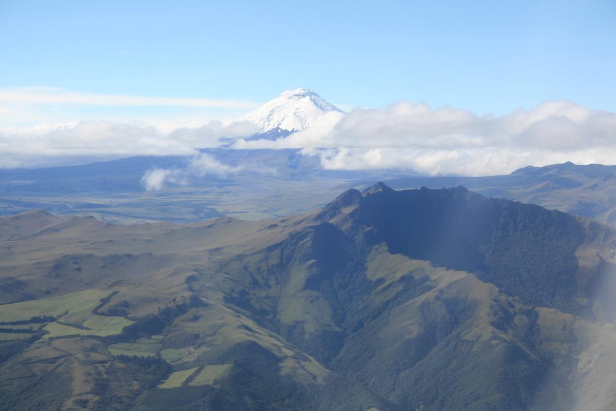 Innflyvninga til Quito