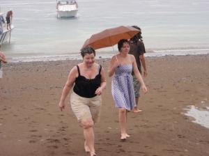 I land på isla de la Plata
