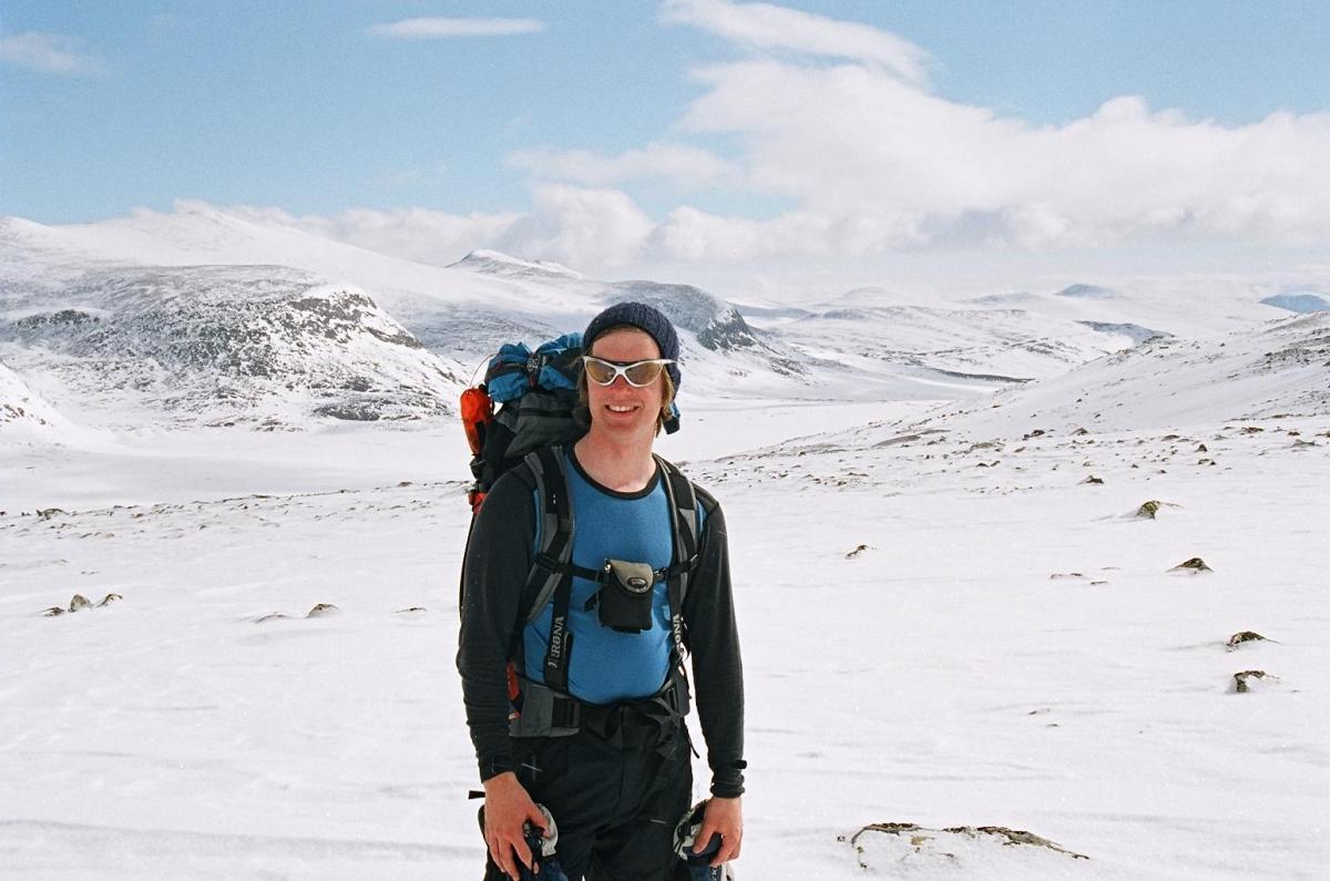 Snøhetta bak fotografen, Reinheim ned til venstre og dalen ut til Kongshem i bakgrunnen