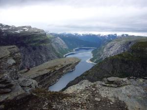 Trolltunga - på vei fra Skjeggedal til Tyssevassbu