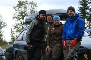 Henning, Ragnhild, Marie og Erling, foto Marie B A