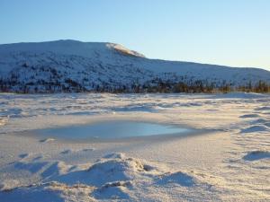 Utsikt mot Turrularsfjellet