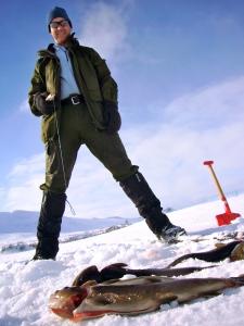 Fisk av et større kaliber på Holmsjøen