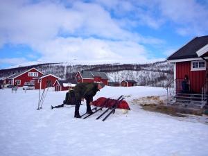 Joatkajávri fjellstue var også en nydelig plass.