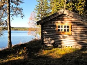 Netsjøhytta - nok en idyllisk beliggenhet