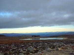 Snøheim sett fra nordvest