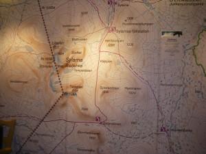 Kart over ruta