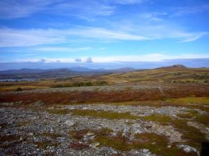 Nydelige farger på fjellet