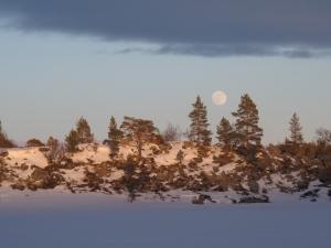 Fullmåne over Vonsjøen