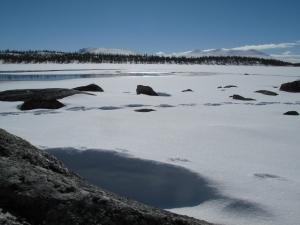 Lunsj på nordsiden av Storrundhåen